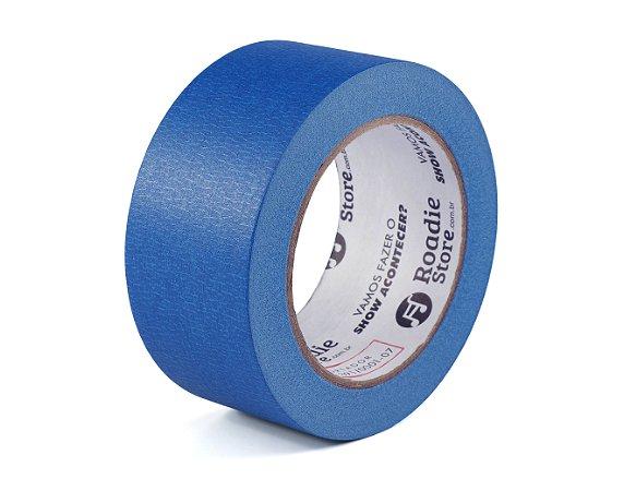 Fita Crepe Azul 50mm x 50mts - Roadie Store