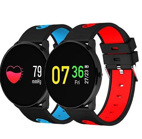bf5f69e73f6 Smartwatch Relógio Eletrônico CF 007 - Texas Relógios