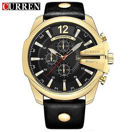2f8ccd21c91 Relógio Curren Quartz Elite - Texas Relógios