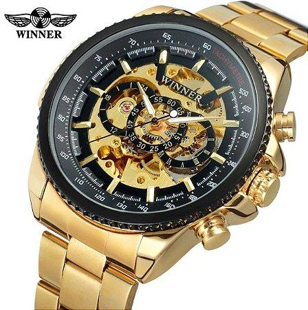 fb0121fb371 Relógio de Luxo Winner World - Texas Relógios