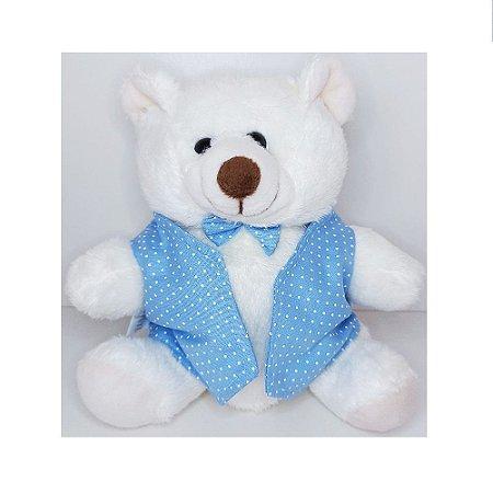 Mini Urso de Pelúcia Encanto com Colete W.U