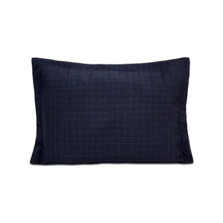 Porta Travesseiro Turim Azul Marinho  50 x 70 cm Sulamita
