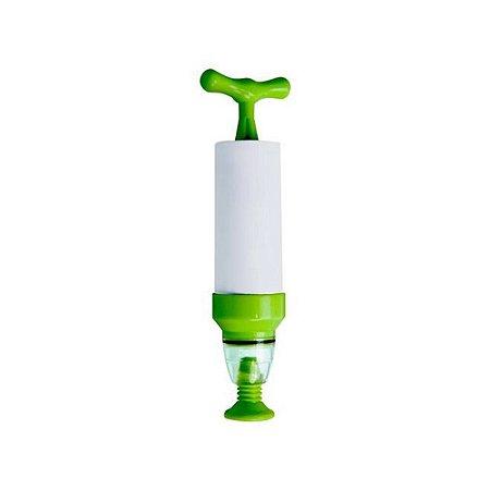 Kit Saco Reutilizável c/ Válvula e Bomba de Sucção Manual