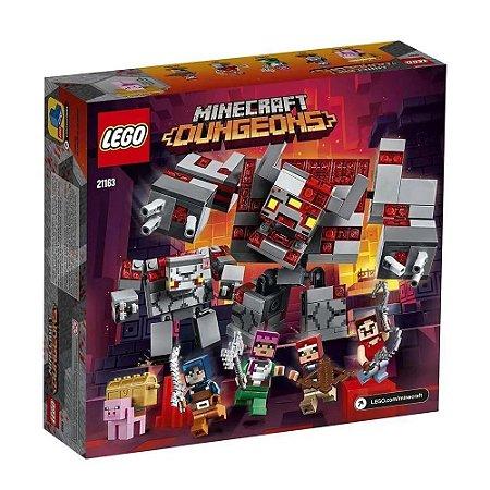 Lego Minecraft A Batalha Da Redstone 21163