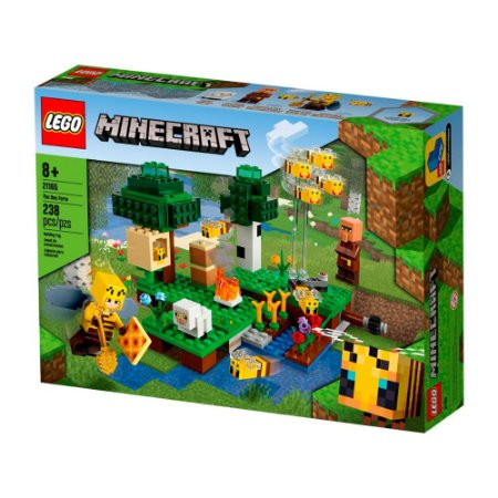 Lego Minecraft A Fazenda das Abelhas 21165