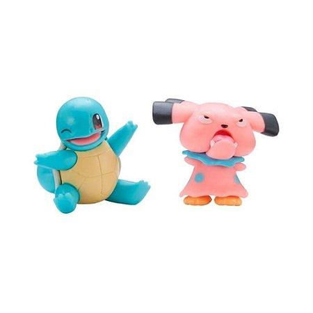 Pokemon Snubbull e Squirtle Figuras de Ação Wave Sunny