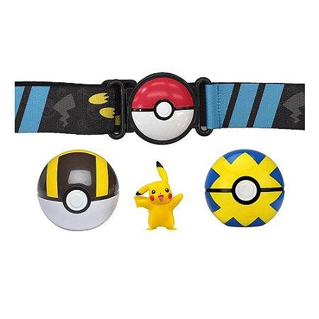 Pokemon Pikachu Cinto Porta Pokebolas - Sunny