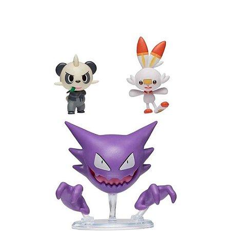 Pokemon Pack Haunter + Scorbunny + Pancham Sunny