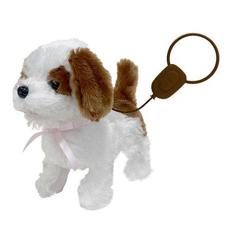 Cachorrinho Passeio Com Controle Play Full Pets Beagle Toyng