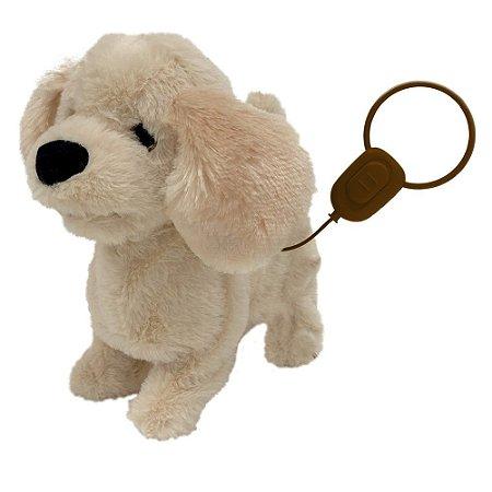 Cachorrinho Golden Passeio Controle Play Full Pets Toyng