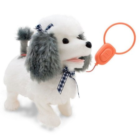 Cachorrinho Poodle Cinza Controle Play Full Pets Toyng