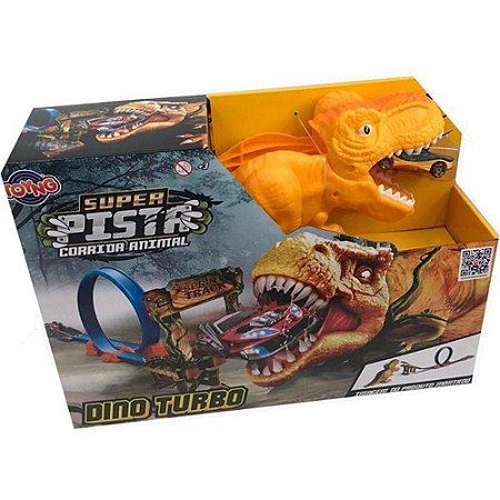 Super Pista Corrida Animal Dino Turbo -  Toyng