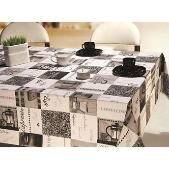 Toalha De Mesa Retangular Coffe 1,60 X 3,50 Cm