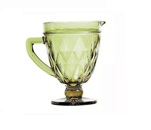 Jarra Diamond Vidro Verde 1 Litro