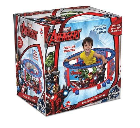 Piscina de Bolinhas Infantil Avengers - Líder