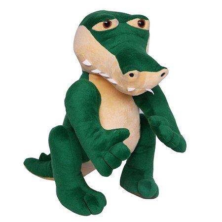 Jacaré / Crocodilo Verde Daddy 42 Cm Lovely