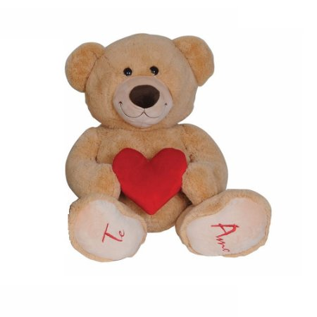 Urso De Pelúcia Bear love 50 cm Lovely