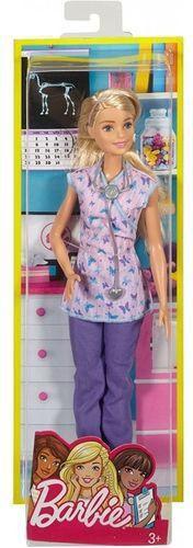 Boneca Barbie Profissão Enfermeira Mattel