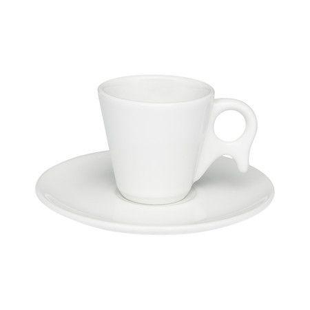Jogo Xícaras Café / Cafezinho Porcelana 75 Ml Gênova