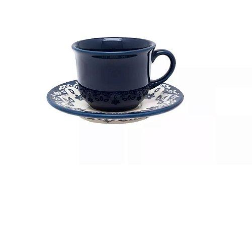 Jogo Xícara Chá / Café C/ Leite 200 Ml Energy Oxford
