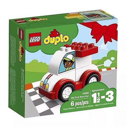 Lego Duplo - O Meu Primeiro Carro De Corrida 10860