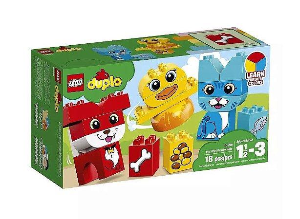 LEGO Duplo O Meu Primeiro Quebra-Cabeças com Animais de Estimação - 10858