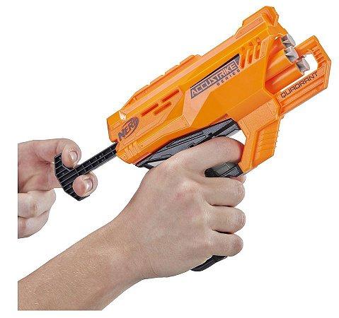 Lançador Nerf  Accustrike Quadrant - Hasbro