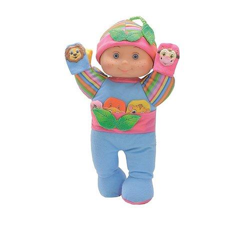 Boneca De Pano Meus Amiguinhos Fantoches Anjo Brinquedos