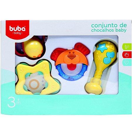CONJUNTOS DE CHOCALHOS BABY - BUBA BABY