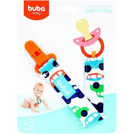PRENDEDOR DE CHUPETA CARRINHO - BUBA BABY