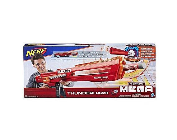 Lançador Nerf  N-Strike Mega - Thunderhawk - Hasbro E0440