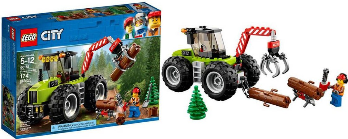 LEGO CITY TRATOR FLORESTAL - 60181