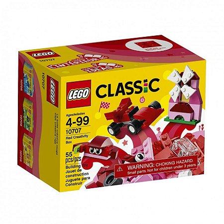 LEGO CAIXA CRIATIVA VERMELHA - 10707