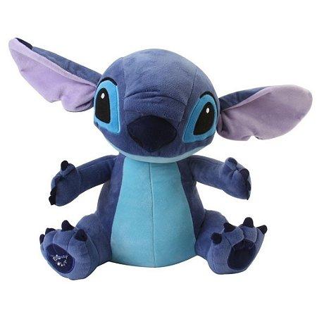 Lilo Stitch C/ Som Pelúcia 30 Cm Multikids