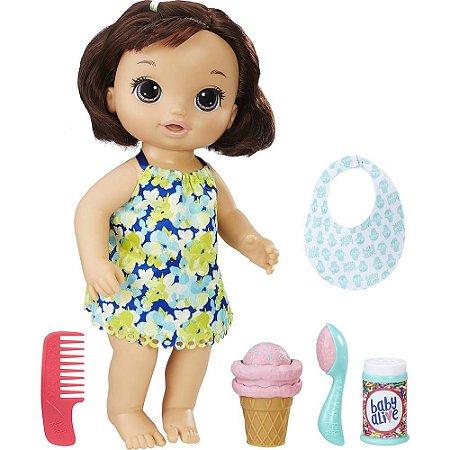 Boneca Baby Alive Sobremesa Mágica Morena