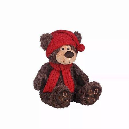Urso De Pelúcia Soneca 30 Cm