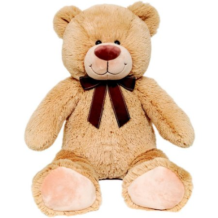Urso De Pelúcia Feliz Caramelo M Buba Toys