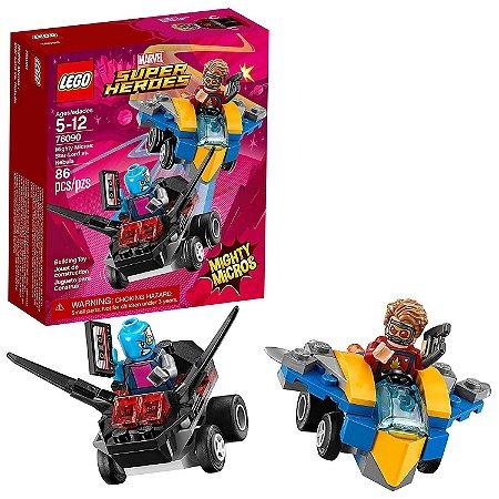 LEGO Super Heroes Senhor Das Estrelas Vs Nebula 76090