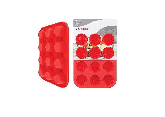 Forma Mini Bolo Em Silicone Uny - Kit Com 02 Unidades