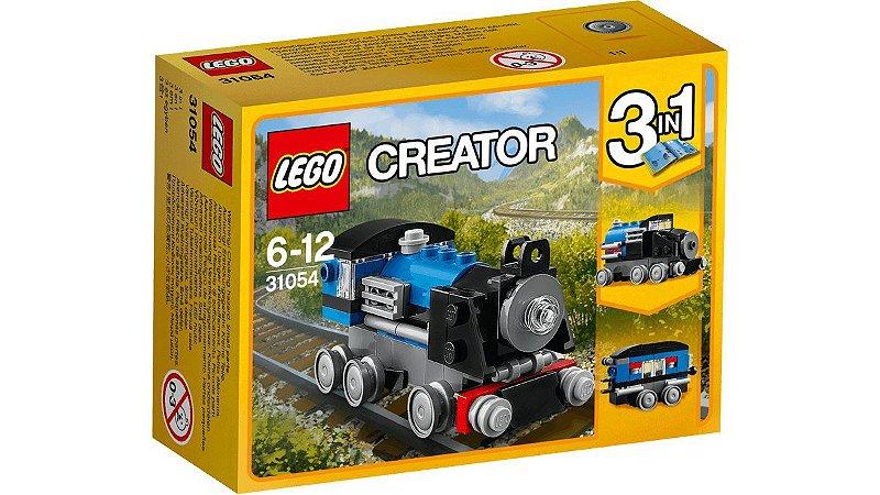 LEGO TREM EXPRESSO AZUL 31054