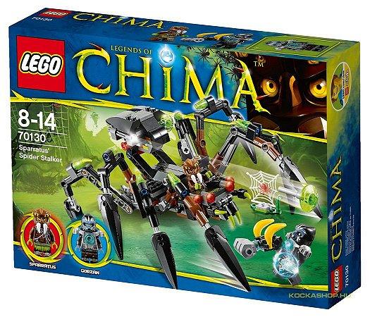 Lego Chima - Aranha Stalker - 70130