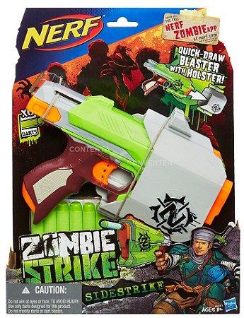 Lançador NERF Zombie Sidestrike Hasbro