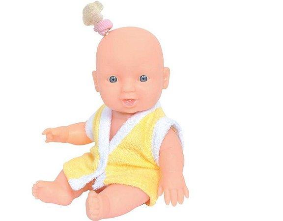 Boneca Mini Banho de Espuma Adjomar