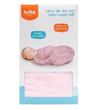 Saco de Dormir Baby Super Soft Rosa Buba