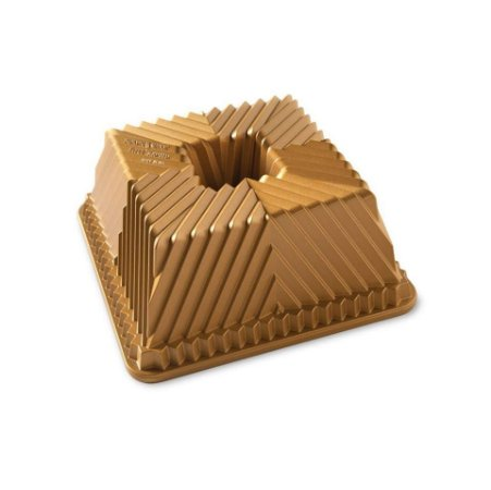 Forma para Bolo Confeitaria Gold Square Nordic Ware