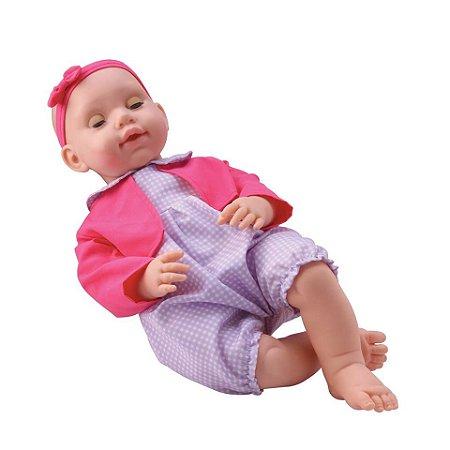 Boneca Matilda fecha os olhos