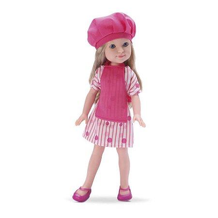 Boneca Ketty cozinheira com Acessórios