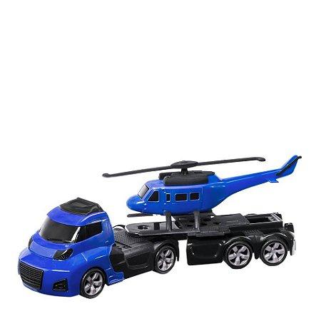 Caminhão Carga com Helicóptero Invictus Sky