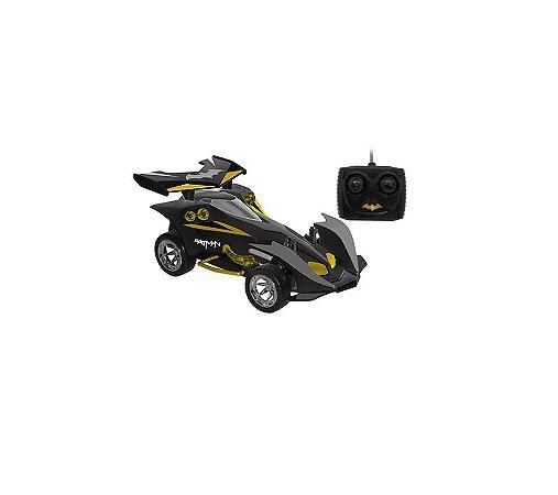 Carro Batman Destemido com Controle - RC 7 Funções e Bateria