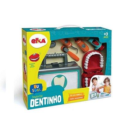 Kit Dentista Infantil Conjunto Dr. Dentinho
